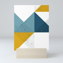 Modern Geometric 19 Mini Art Print