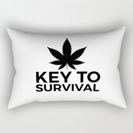 Weed Cannabis leaf gift idea 420 Rectangular Pillow