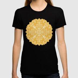 Lotus Mandala - Sunny Yellow T-shirt