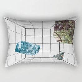 Big White Room Rectangular Pillow
