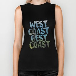 West Coast Best Coast Biker Tank