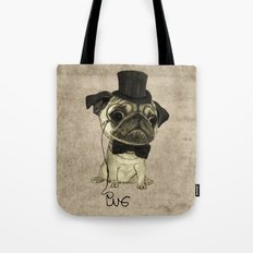 Pug (gentle pug). Tote Bag