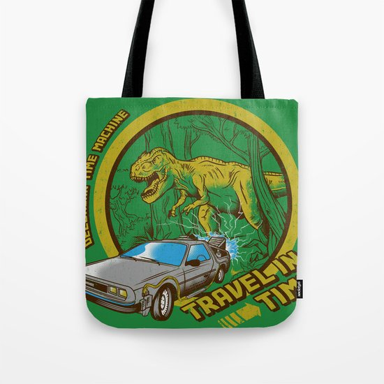 Travel in Time Tote Bag