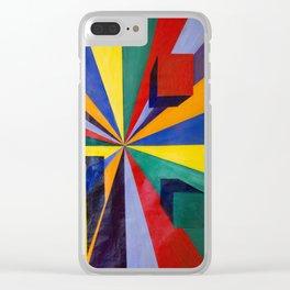color portal Clear iPhone Case