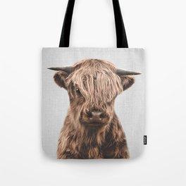 Highland Calf - Colorful Tote Bag