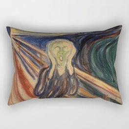 The Scream by Edvard Munch Rectangular Pillow