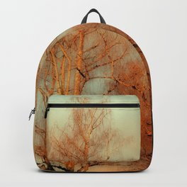 TREES AT SUNSET 3 Backpack