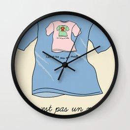 La trahison des maillots Wall Clock