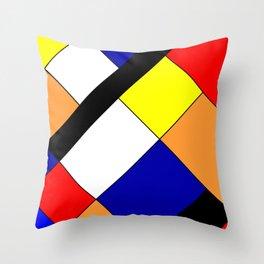 Mondrian #18 Throw Pillow