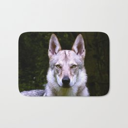 Czech Wolfdog Digit. Edition Bath Mat