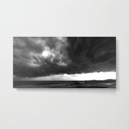Storm Incoming Metal Print