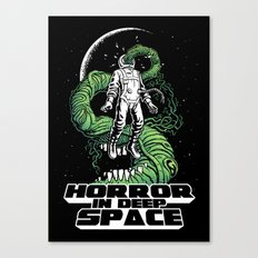Horror In Deep Space Canvas Print