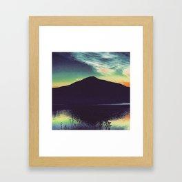 Mount Tamalpais Framed Art Print