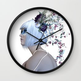Planē (Raw) Wall Clock