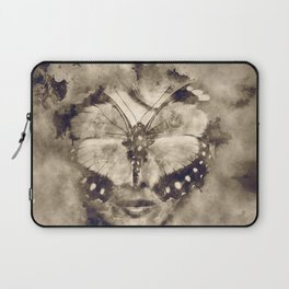 Butterfly lady Laptop Sleeve