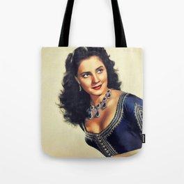 Jody Lawrance, Vintage Actress Tote Bag