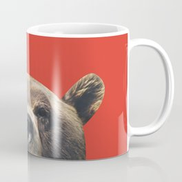 Bear - Red Coffee Mug