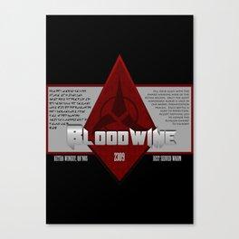 Fictional Brew - Bloodwine Canvas Print