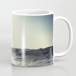 SUP board surfer at Sunset vintage Film simulation Coffee Mug