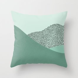 Mint Slice: Cookie Crew Throw Pillow