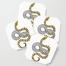 Gold Snake Coaster