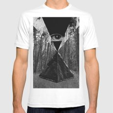 From the Eye White Mens Fitted Tee MEDIUM