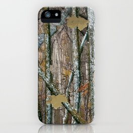 Hunting Camouflage Pattern 2 iPhone Case