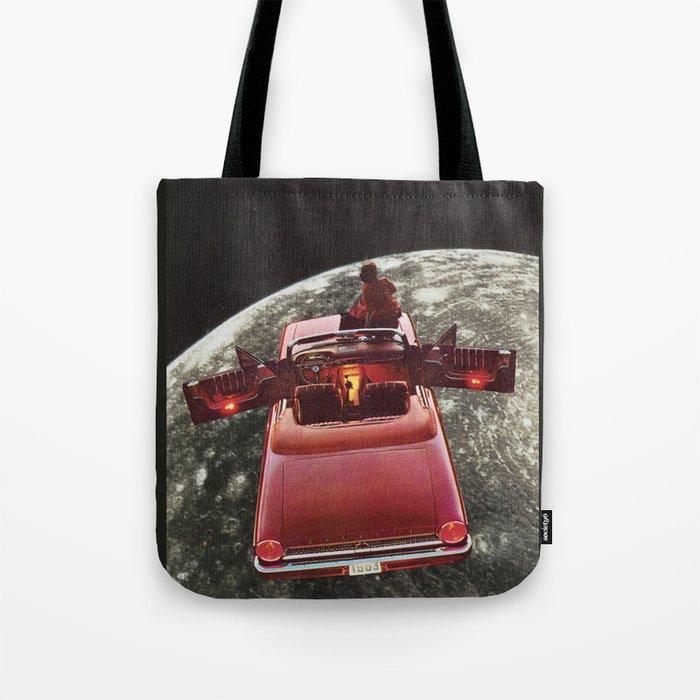 Flotar sobre Calisto Tote Bag