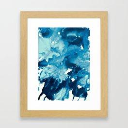 inkblot marble 11 Framed Art Print