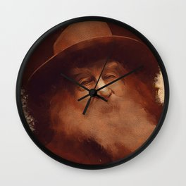 Walt Whitman, Literary Legend Wall Clock