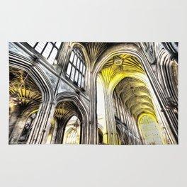 Bath Abbey Art Rug
