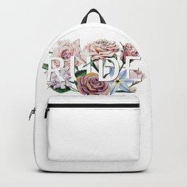 Floral Rude Backpack