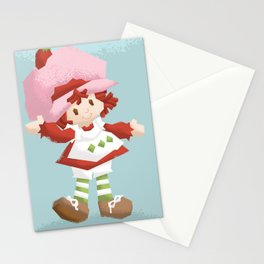 Strawberry Shortcake Stationery Cards