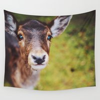 bambi Wall Tapestries featuring Bambi by Bildersommer