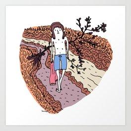 Putty Hill. Art Print