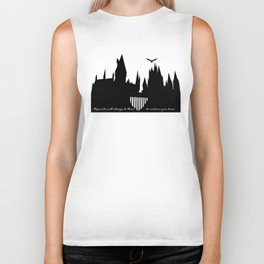 Hogwarts Is Our Home  Biker Tank