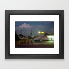 HELL Framed Art Print