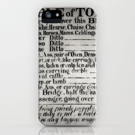 The Ironbridge Tolls iPhone Case
