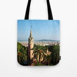 Barcelona architecture Tote Bag