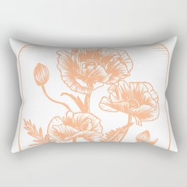 Poppy Potion Rectangular Pillow