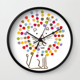 Dandy Lion Wall Clock