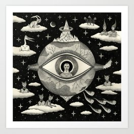 Some Sort of Mystical Explanation Art Print