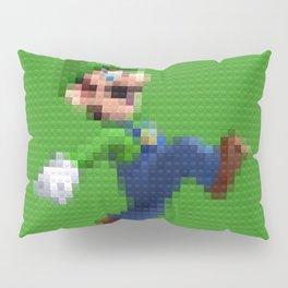 Luigi - Toy Building Bricks Pillow Sham