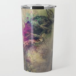 When i Dream of Chameleon Travel Mug