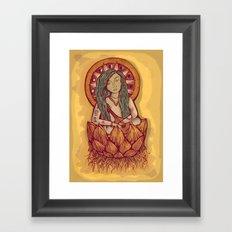 Benzaiten Framed Art Print