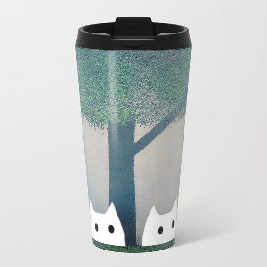 cat-185 Metal Travel Mug