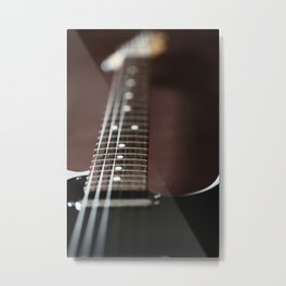 Up close Tele Metal Print