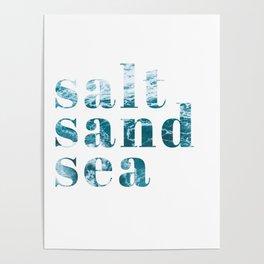 salt sand sea Poster