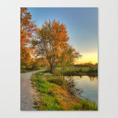 October Walk 1 Canvas Print
