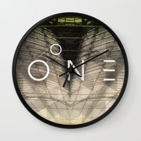 bones Wall Clocks featuring Bones by Vin Zzep